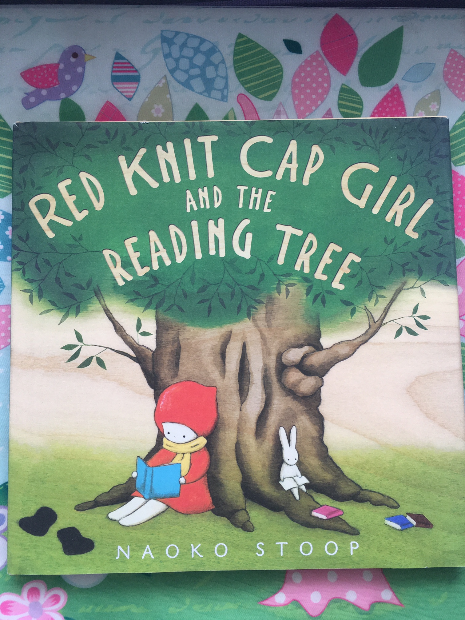 red knit cap girl couverture