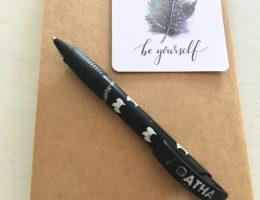 Le stylo «Agatha» qui m'accompagne depuis plus de 10 ans vient de succomber ce matin.